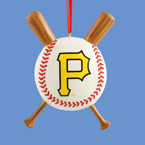 Pittsburgh Pirates Baseball Ornament Item 100176 The Christmas Mouse