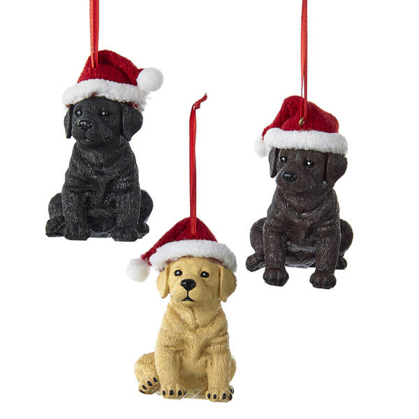 Labrador Retriever Ornament - Item 101993 - The Christmas ...