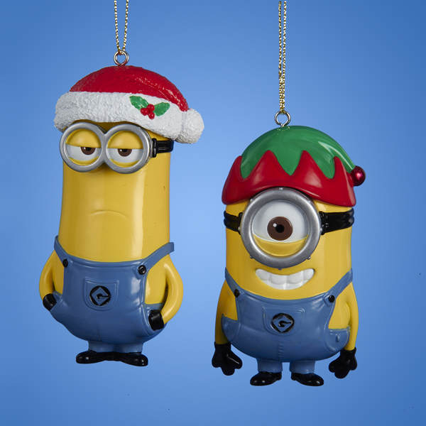 Mark/Carl Despicable Me Minion Ornament - Mark/Carl Despicable Me Minion Ornament - Item 102870 - The