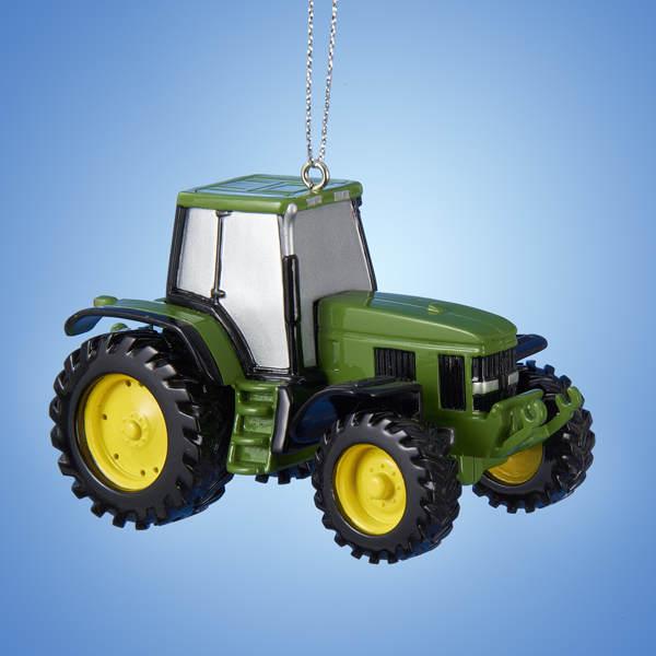 John Deere Tractor Wood Ornaments : John deere tractor ornament item the