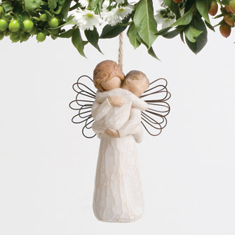 angels embrace ornament item 112060 the christmas mouse
