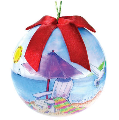 beach chair ball ornament myrtle beach - Christmas Mouse Myrtle Beach