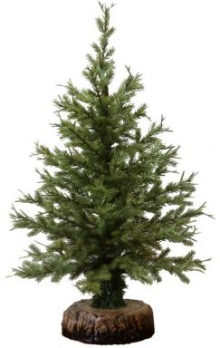 1 5 Foot Cypress Artificial Tabletop Christmas Tree