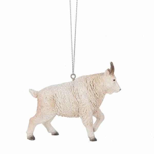 Goat Christmas Ornament.Mountain Goat Ornament
