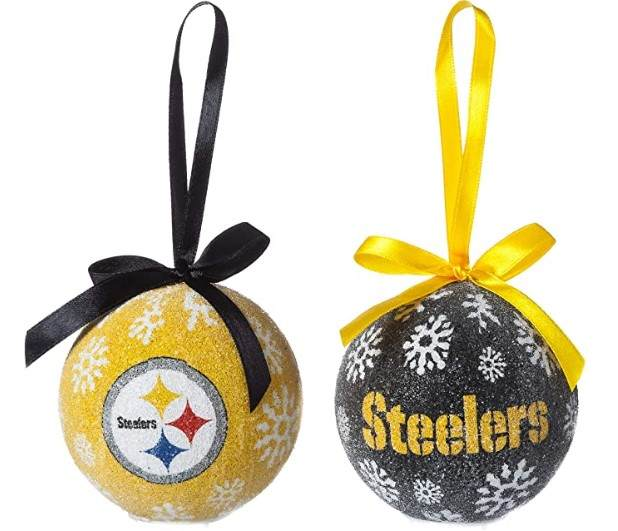 8598f62d Pittsburgh Steelers Light Up LED Ball Ornament