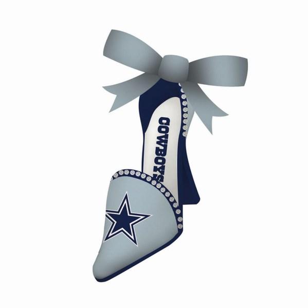 Dallas Cowboys High Heel Shoe Ornament Item 420830 The