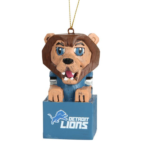 Detroit Lions Mascot Ornament Item 421256 The Christmas Mouse