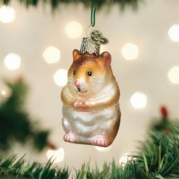 Hamster Ornament - Hamster Ornament - Item 425472 - The Christmas Mouse