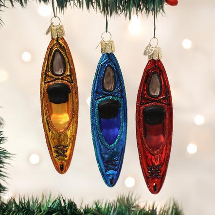 Kayak Ornament - Item 425698 | The Christmas Mouse