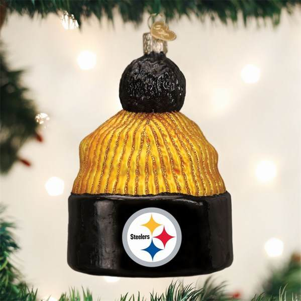 Steelers Christmas Ornaments.Pittsburgh Steelers Beanie Ornament