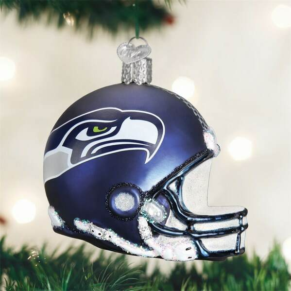 Seattle Seahawks Helmet Ornament
