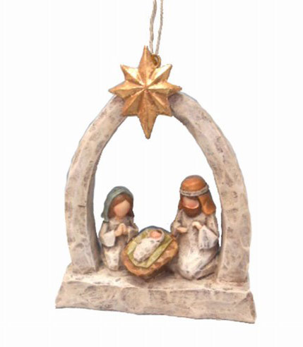 Nativity Ornament.