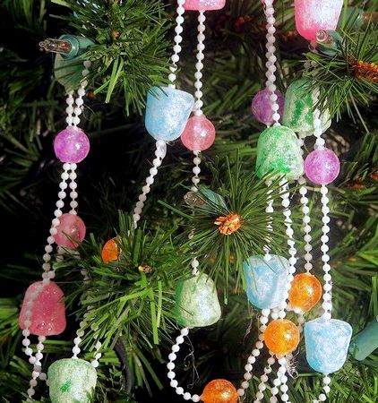 Christmas Bead Garland