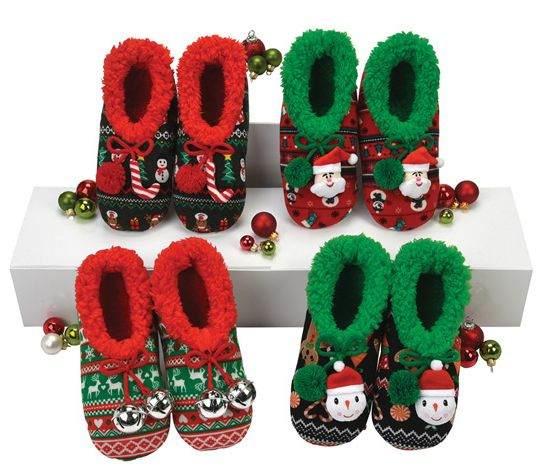 Ugly Christmas Jacquard Snoozies