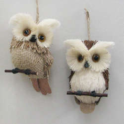 Owl Ornaments The Christmas Mouse