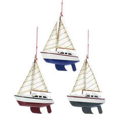 Ship and Boat Ornaments - The Christmas Mouse