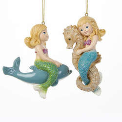 Mermaid Ornaments - The Christmas Mouse