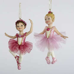Ballerina Ornaments - The Christmas Mouse