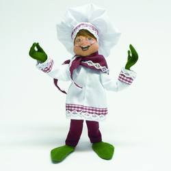 collectibles annalee dolls and ornaments chef elf - Annalee Christmas Decorations