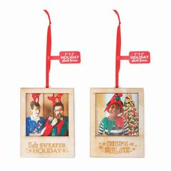 Picture Frame Ornaments  The Christmas Mouse